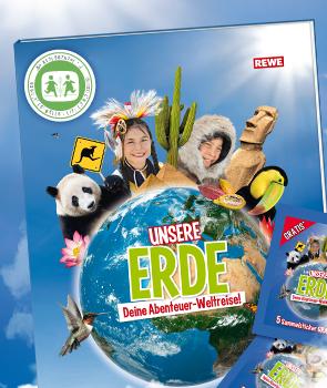 Rewe Sticker - Unsere Erde Tauschbörse!