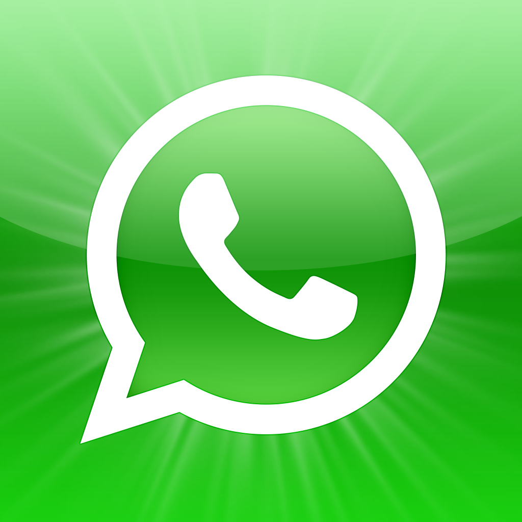 Mädchen mit blauen Wuschel als WhatsApp Profilbild