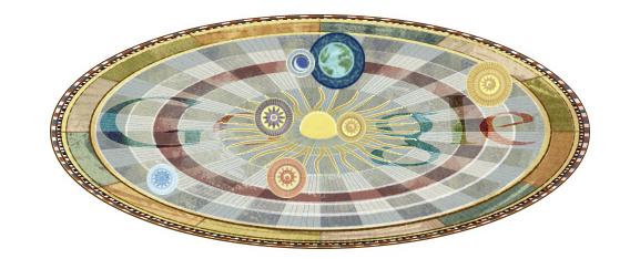 Nikolaus Kopernikus - Google Doodle zum 540. Geburtstag