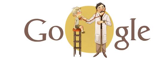 Adalbert Czerny - Google Doodle zum 150. Geburtstag!
