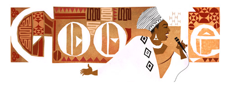 Miriam Makeba - Google Doodle zum 81. Geburtstag!