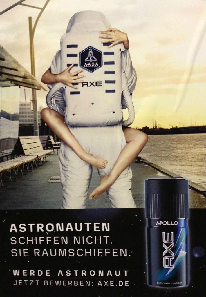 Axe Astronaut TV Werbung 2013