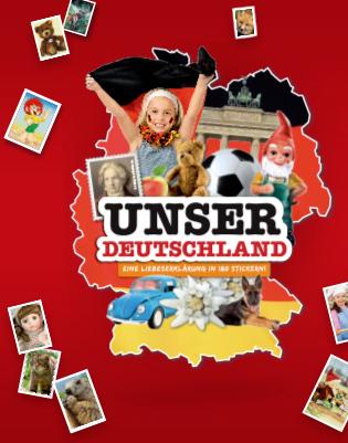 Rewe Sticker - Unser Deutschland Tauschbörse