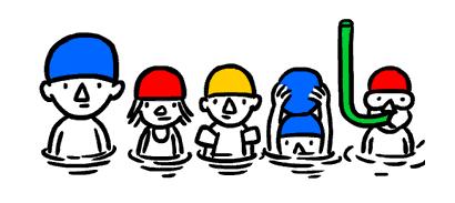 Google Doodle läutet den Sommer ein