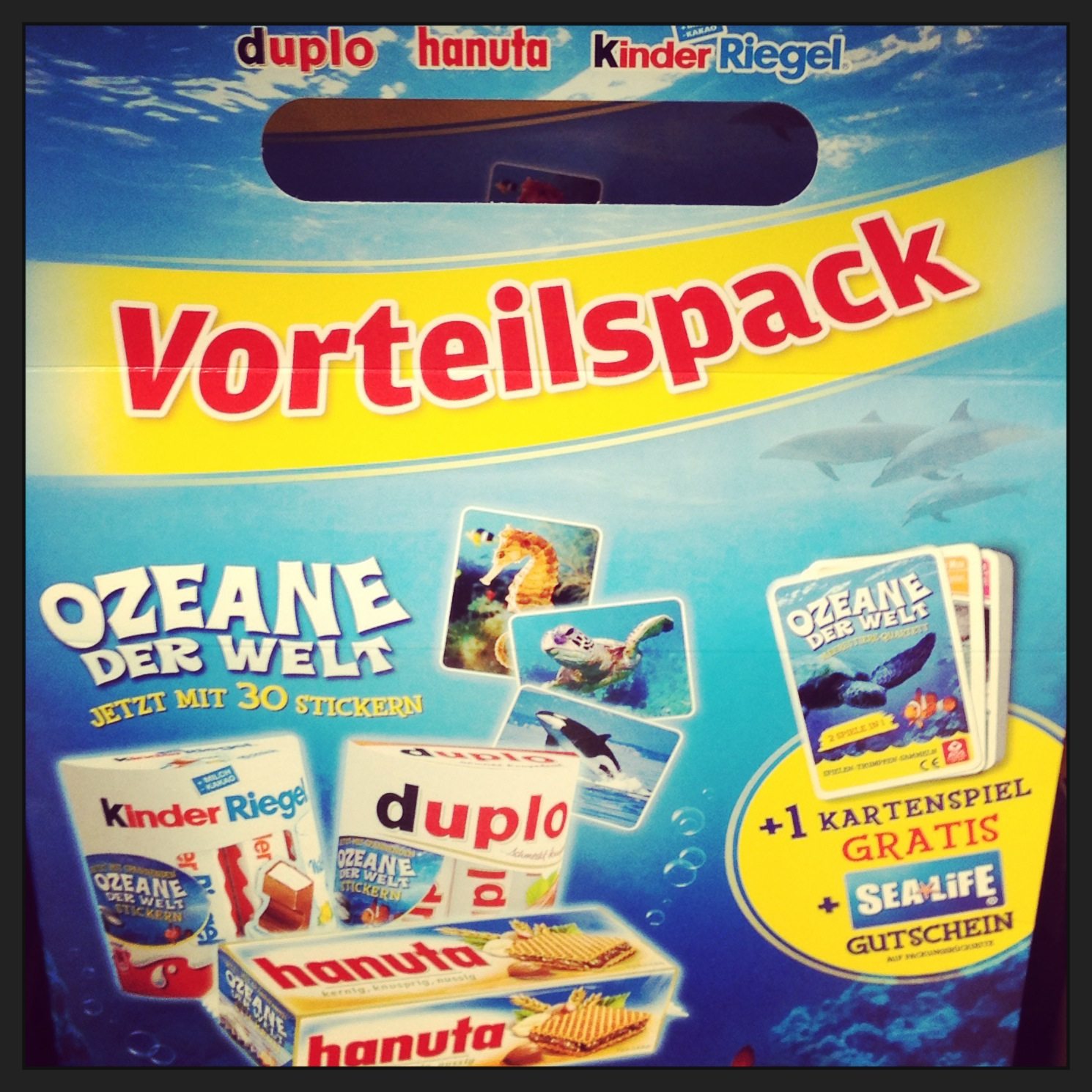 Ferrero Sticker - Ozeane der Welt Tauschbörse
