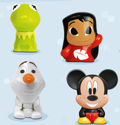 REWE Disney Wikkeez Weihnachts Tauschbörse