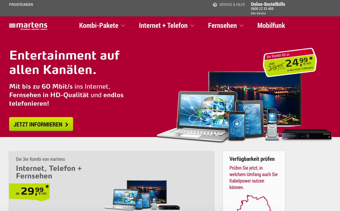 Ärger mit Martens / Primacom Internet - ein Erfahrungsbericht